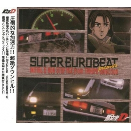 MICA-0779 Super Eurobeat Presents Initial D Non-Stop MIX from Takumi-Selection 頭文字d